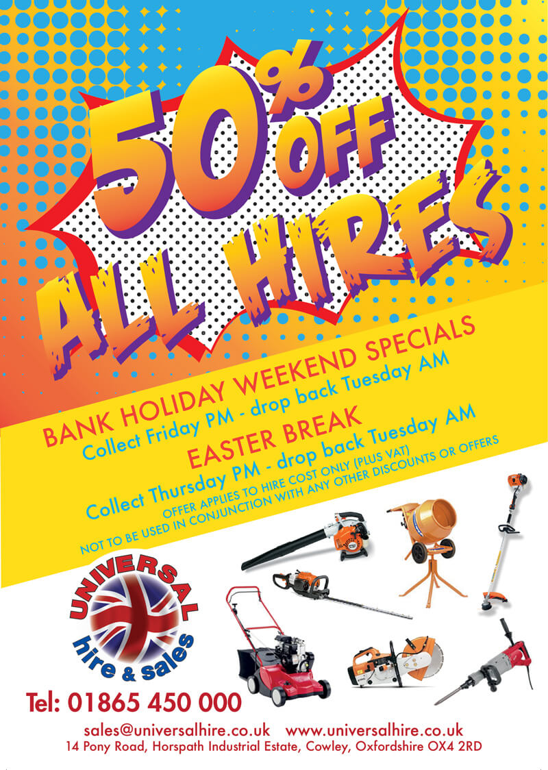 50-OFF-Flyer-Bank-holidays
